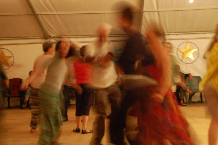 ceilidh blurred motion shot